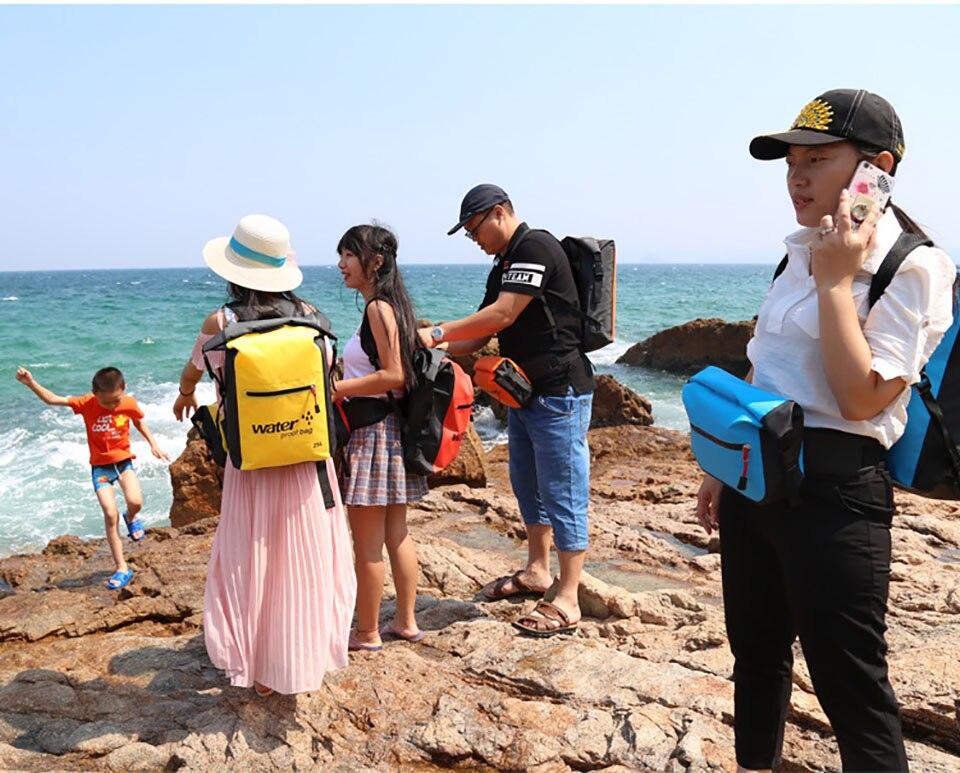 canoagem viagem à prova dwaterproof água seco oceano pacote