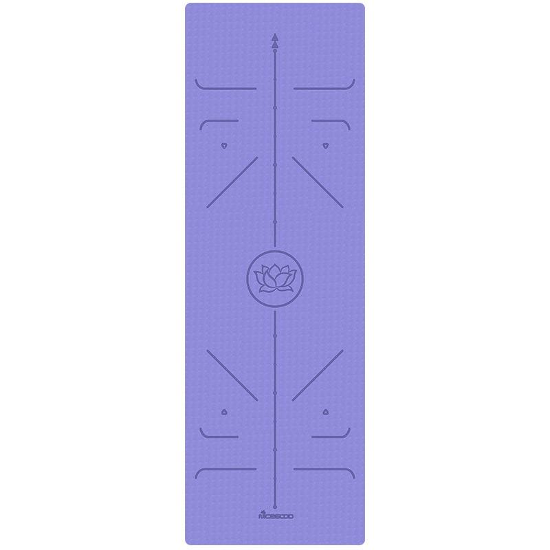 Nano Goood 6mm caoutchouc naturel TPE tapis de Yoga épais anti-dérapant débutants femmes tapis de gymnastique ensemble trois pièces tapis de Yoga