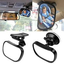 Rearview-Mirror Suction-Cup Baby Small Car