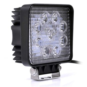 27/48W Engineering Light Thin Section Led Work Light Spotlight Searchlight Off-Road Light Engineering Light image