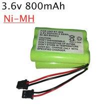 Перезаряжаемая аккумуляторная батарея Ni-MH для телефона 3,6 в, 800 ма · ч, для фотоприемника, BT909, 3 аккумулятора AAA nimh 3,6 в, комплект от 1 шт. до 10 шт.