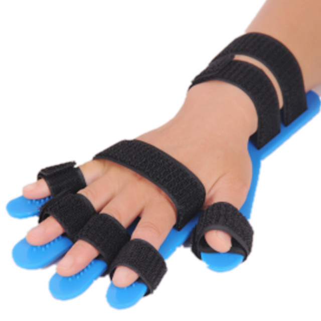 Mão fisioterapia reabilitação dedo separador aplicável ao curso hemiplegia pacientes reabilitação equipamentos 1