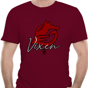 Vixen Hotwife Cuckold Ladies T-Shirt 2179K(China)