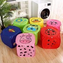Laundry-Basket Organizer Home-Storage Stor-Box Sundries-Clothing Foldable Large-Capacity