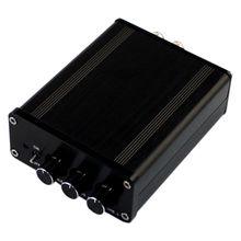 Class D AMP TPA3116 + LM1036 Volume Adjustment Bluetooth Digital Power Amplifier DC18-24V 50W+50W academic adjustment of ix class pupils