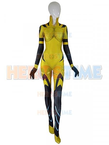 B.VA Cosplay Costume Adults Kids D.va BVA Plugsuit Superhero Halloween Bodysuit Zentai Second Skin Suit