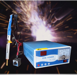 Dla M2 M50 rozwiertak przenośne elektryczne spark wykrawarka wiercenie metali maszyna edm -