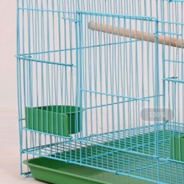 Wire Rectangular Bird Cage 1