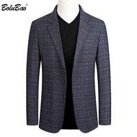 BOLUBAO Мужчины повседневные блейзеры тренд бренд китайский стиль мужской Slim Fit Дикий костюм мода бизнес-платье, пиджак мужской