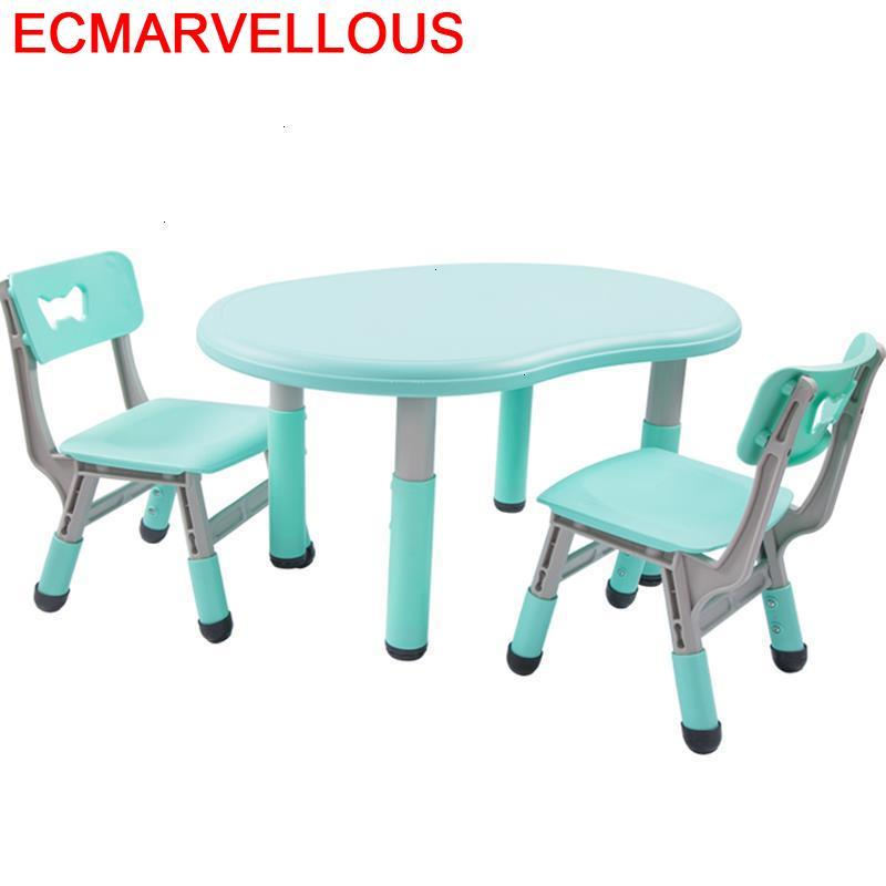 Enfant Avec Chaise Tavolino Toddler Tavolo Per Bambini Pupitre Kindergarten Kinder Mesa Infantil Study For Kids Children Table