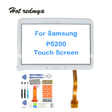 10.1Touch Screen Digitizer Panel Sensor Front Outer Glass Lens For Samsung Galaxy Tab 3 10.1 GT-P5210 P5200 P5210 with Tools rlgvqdx new touch screen for samsung galaxy tab 3 10 1 gt p5200 p5210 p5220 glass replacement black by free shipping