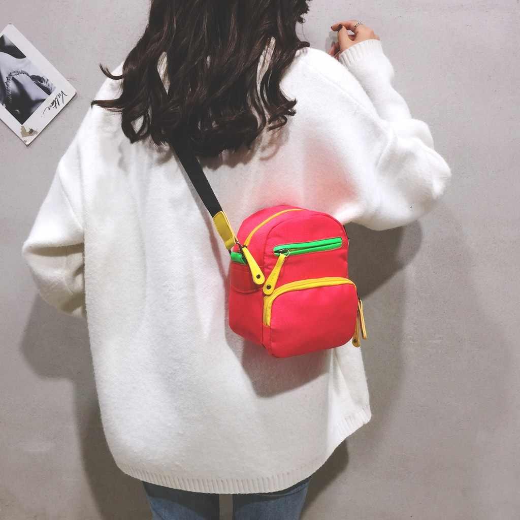 Frauen Leinwand handtaschen mode lässig einfarbig einfache stil Umhängetaschen Umhängetasche bolsa taschen новая холщовая сумка 2019