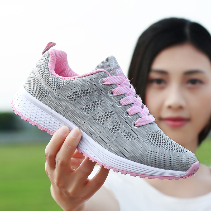 Women Casual Sneakers Fashionable Vulcanize Shoes Platform Spring Running Sport Sneakers Breathable Tennis Air Large Size Shoes 5