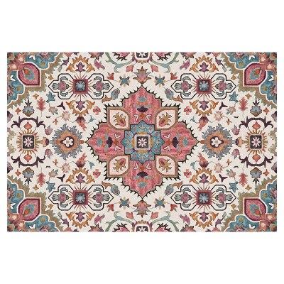Livraison gratuite tapis de bain Rectangle bleu européen/tapis de maison délicat/tapis de sol de chambre à coucher quatre tailles absorbant paillasson antidérapant - 6