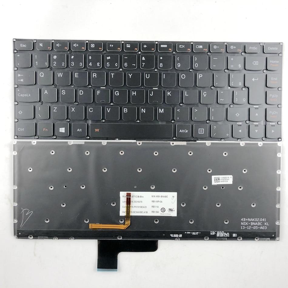 New For Lenovo YOGA 2 13 Not Fit YOGA 2 Pro 13.3 Inch English Keyboard Backlit