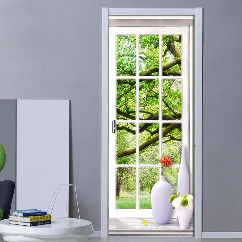 Купить 3d наклейки для дверей и окон наклейки на стены в европейском