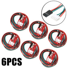 цена на 6pcs/pack Mechanical Endstop Limit Switches RAMPS 1.4 For 3D Printer Parts RepRap Prusa Mendel