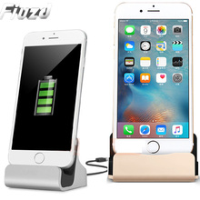Fiuzd 2018 New Desktop USB Charging Charger Dock For iPhone 7 8 Plus Stand Dock Station Cradle For iPhone X 6 6S With Retail Box