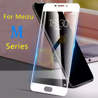 Proteger de vidrio para Meizu M3 M5 M6 nota M3s M5 s M5 c 7 vidrio templado caso Maisie M 3 5 6 no M5 nota M6 nota película protectora