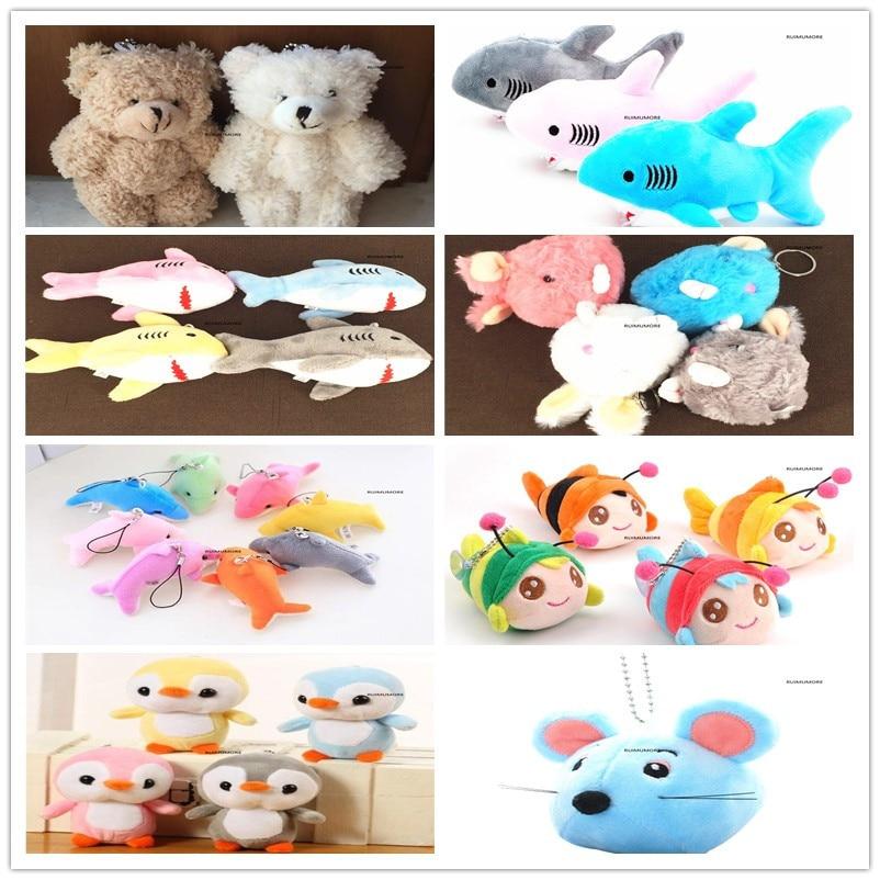 size 5 15cm multi designs, keychain animal Plush Toy , gift Pendant Plush stuffed animal Toy doll Stuffed & Plush Animals  - AliExpress