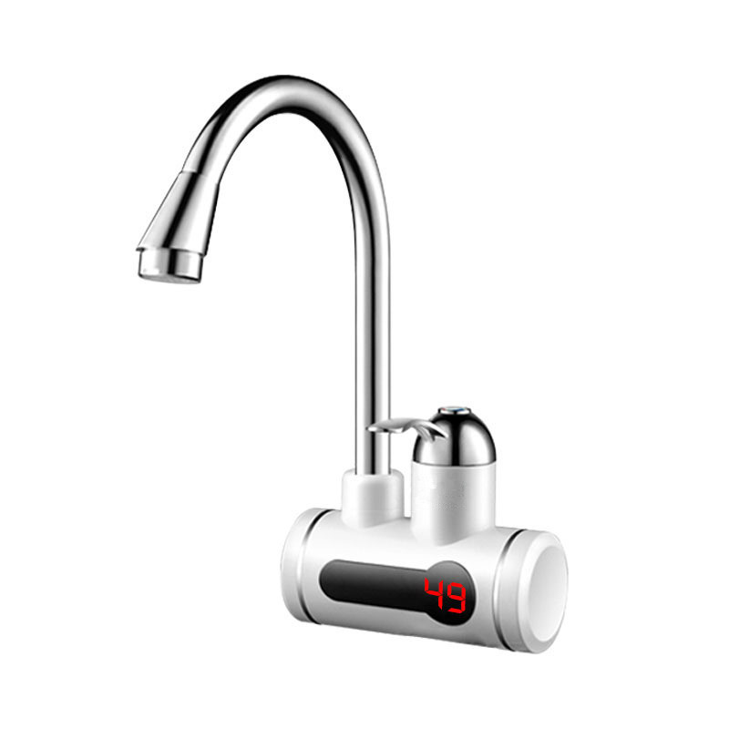 KBAYBO 3000W Instantaneous Thermoelectric Induction Digital Display Water Heater Faucet 360 Degree Rotating Handle For Kitchen