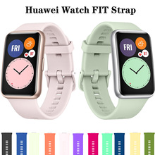 Smartwatch-Accessories Fit-Strap Huawei Watch Wrist Bracelet Silicone-Band Correa