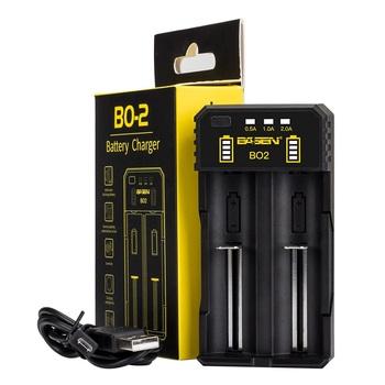 BASEN ładowarka akumulatorów litowych do 18650 26650 21700 10440 14500 16340 AA AAA nikiel NiMH inteligentna ładowarka do akumulatora tanie i dobre opinie GBETA BO-2 B0-4 BC-2 Wyjście USB Standardowa bateria battery charger 18650 battery charger aa aaa 18650 charger charger for battery