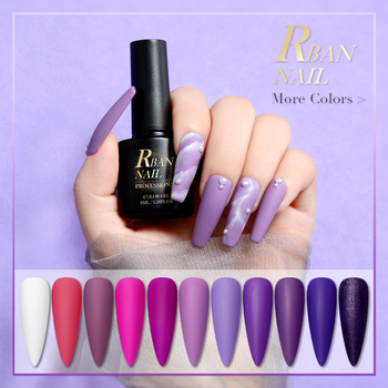 8ml Color Gel Purple Nail Polish Hybrid Varnish for Manicure Semi Permanent Nails Art Nail Polish Gellak Matte Top Coat Primer 86102 soak off primer gel gdcoco 8ml nail polish base coat top coat matte gel varnish ultra bond no acid primer hybrid basegel