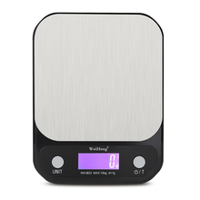 10kg/1g 3kg/5kg 0.1g Digital Scale High Quality Stainless Steel Weighting Scale Baking Precision Electronic Weight Kitchen Scale laboratory balance scale 50g 0 001g high precision jewelry diamond gem lcd digital electronic scale counting function portable