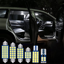 8x светодиодный лампы салона автомобиля светильник комплект