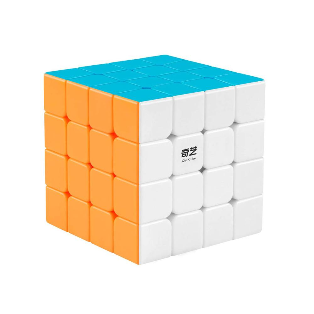 Qiyi Qiyuan 4x4 Speed Cube Stickerless Magic Cubes 4x4x4 Smooth Puzzle Toys Gift For Kids And Adults Challenge EXW