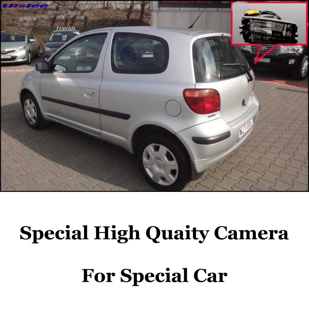 LiisLee Car Reversing Image Camera For TOYOTA Vizi Echo Yaris XP10 Hatchback 1999~2005 Night Vision Dedicated Rear View Back CAM