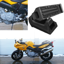 1 Pair Left & Right Motorcycle Rubber Front FootRest Foot Pegs For Yamaha YBR125 YBR 125 All Years Accessories
