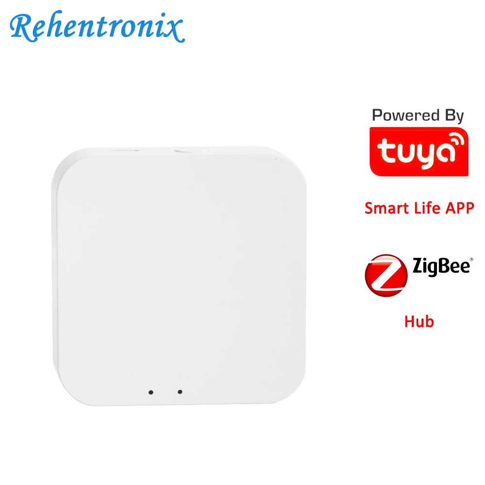 Mini Wireless WiFi Tuya Smart ZigBee Central Hub Smart Life Home Security System GateWay