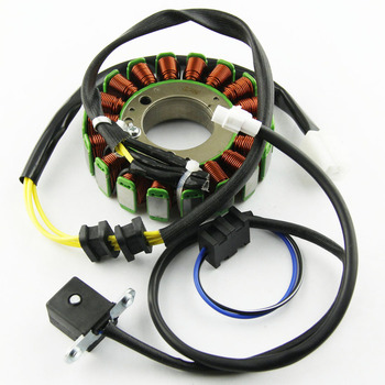 Motorcycle Stator Magneto Coil 18 Poles 12V Coil For Kawasaki 21003-1128 210031128 KLF300 Bayou 300 2WD