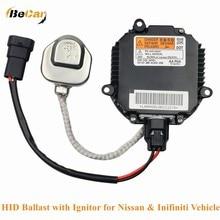 HID Ballast with Ignitor for Nissan & Inifiniti Vehicles Murano Maxima Altima 350Z QX56 G35 FX35 Headlight Control Module Unit