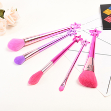 5pcs Fairy Makeup Brushes Set Powder Blush Eyeshadow brushes Fairy Cosmetic