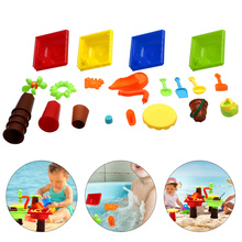 1 Set Assembly Beach Table Plaything Kit Sand Plaything Kids Outdoor