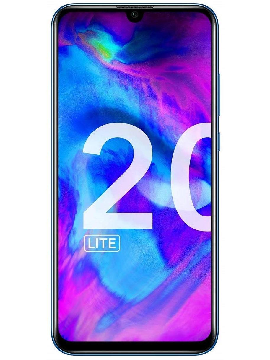 Huawei Phone Honor 20 Lite, Blue Color (Blue), 128 GB ROM, 4 GB RAM, 6.21