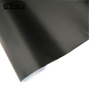 Image 5 - Antrasit koyu gri mat mat metalik krom araba vinil filmi yapışkan Film hava kanalları ile tunç folyo kaplamalı