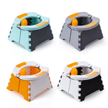 Baby Potty Bedpan Toilet Training-Toilet-Seat Folding Outdoor Portable for Children Car