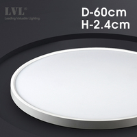 Modern LED Ceiling Light D480mm D600mm Home Lighing 5000K Kitchen Bedroom Bathroom Lamp Ultrathin Surface Mounting Ceiling Lamp