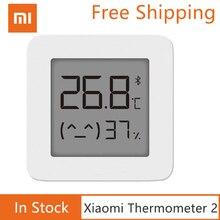 شاومي Mijia بلوتوث جهاز مراقبة الرطوبة الذكية الاستشعار الرقمية الرطوبة الرطوبة ميزان الحرارة مقياس الرطوبة شاشة LCD