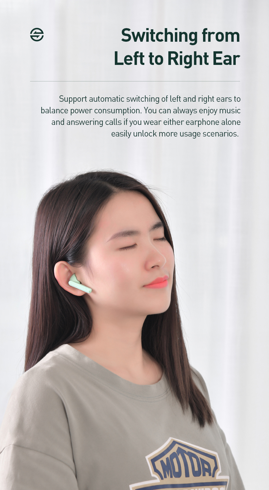 Baseus W09 TWS Wireless Bluetooth Earphone Stereo Bluetooth 5.0 Earphones Sport True Wireless Earbuds Headset For Phone Xiaomi