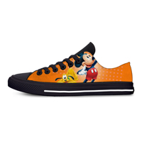 2019 New Mickey Shoes Women Print Top Lightweight Low Top Classic Shoes Breathable Fashion Canvas Shoes Man Mouse Sneakers