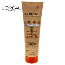 LOreal Paris EverCreme Sulfate-Free Nourishing Shampoo by for Unisex - 8.5 oz Shampoo