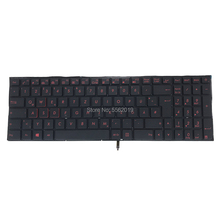 OVY GR Backlight keyboard for ASUS Q501 Q501L Q501LA G501 G501J G501JW GE Germa black Replacement keyboard 0KNB0 662MGE00 Best