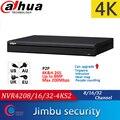 Видеорегистратор Dahua NVR 4K NVR4208-4KS2 8CH NVR4216-4KS2 16CH NVR4232-4KS2 32CH H.265/H.264 разрешение до 8MP
