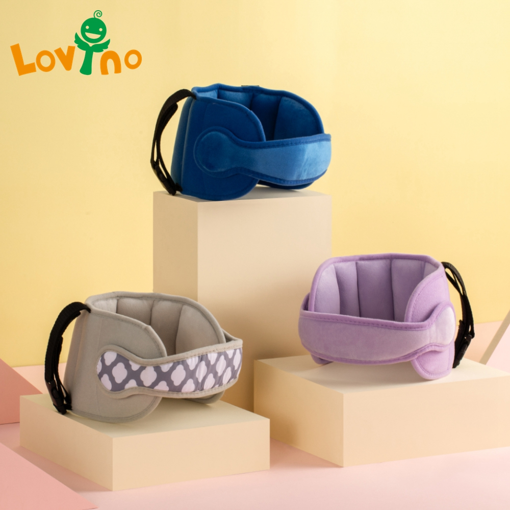 Baby Kids Adjustable Car Seat Head Support Head Fixed Sleeping Pillow Neck Protection Safety Playpen Headrest Children