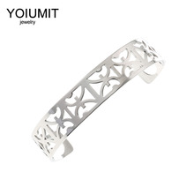 Cremo Discount Bracelets & Bangles Exquisite Wide Interchangeable Reversible Leather Arm Cuff Cocktail Stainless Steel Bracelet